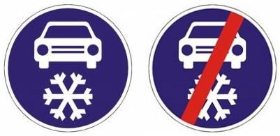 Winterreifenpflicht in Tschechien